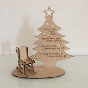 Christmas in Heaven tree decoration - personalised