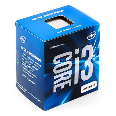 Intel Core i3-6100 Skylake Processor 3.7GHz 8.0GT/s 3MB LGA 1151 CPU, Retail