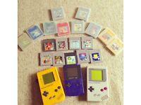 Game boy & games