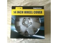 WHEEL TRIMS / COVERS 14 INCH BAND NEW SET OF 4