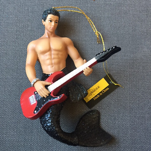 "December Diamonds Merman ""Jagger"" new Christmas ornament"