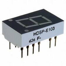 LED 7-SEG 20MM CA GREEN RHD AVAGO 10 PIECE LOT HDSP-8601 ROHS