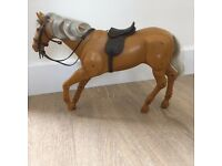 Toy Horse, movable joints. For Cindy size doll. Great Christmas Present
