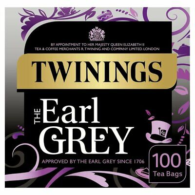 Twinings Earl Grey Tea Bags 100 per pack ()