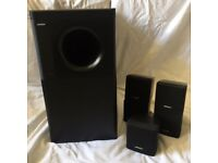 Bose Acoustimass 6 Series II Home Theater Speaker System For Sale Good Condition