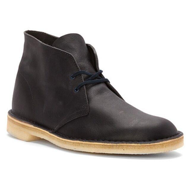 Clarks Desert Boot Originals Men's Leather Navy Color  New Style# 26112780