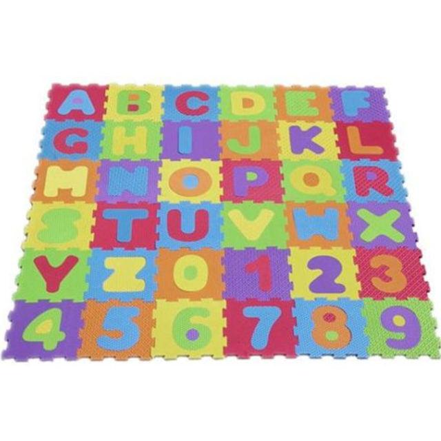 Kids Play Mats Eva Foam Large Alphabet Floor Childrens
