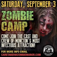 ZOMBIE BOOT CAMP - CAST AND CREW CALL!