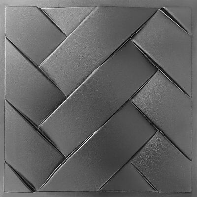 Set2 Binding Inexperienced Molds for 3 D Panels Plaster wall stone Form 3D decor panel