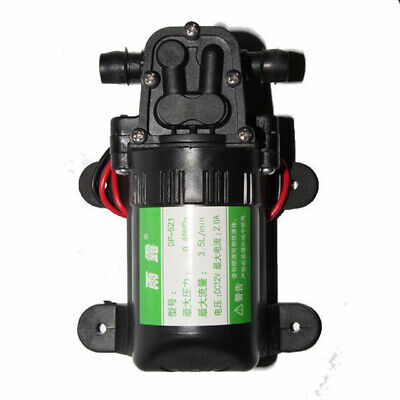 Dc 12v 70psi Agricultural Electric Water Pump Micro Diaphragm Sprayer Car Wash