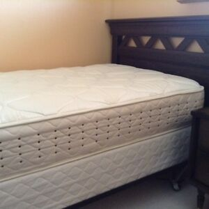 Twin Bed, box-spring and mattress set for sale