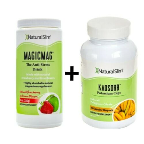 RELAX SLIM NATURALSLIM MAGICMAG PLUS KADSORB PACK RELAX AND WEIGHT LOSS AID