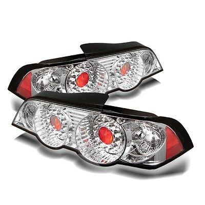 - Spyder Auto Acura RSX 02-04 LED Tail Lights - Chrome ALT-YD-ARSX02-LED-C