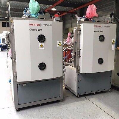 Pfeiffer Vacuum Classic 590 Evaporator Pvd Sputtering System