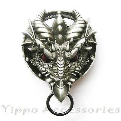Dragon Head Western Metal Fashion Belt Buckle