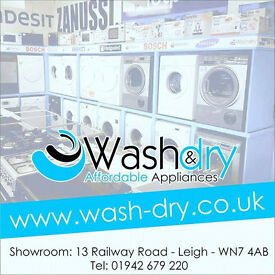 washing machines, dryers, cookers, fridges all come with warranty and can be delivered or collected