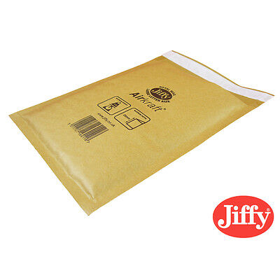 10 JL0 GENUINE Jiffy Bags bubble Padded Envelopes 140x195 CD C/O bubble 10x