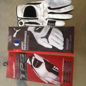 Golf Gloves for Left Handed Golfer, 3 Right Hand Gloves - Large