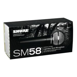 Shure SM58 Unidirectional Dynamic Mic