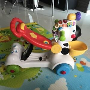 Jouet: Vtech 3-in-1 learning zebra scooter