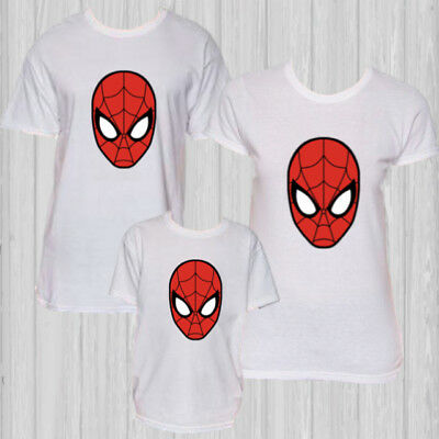 Spiderman t-shirt Superhero Avengers Venom family Disney shirts costume cosplay