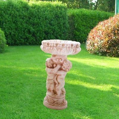 arredamento giardino, putti, putto, vaso in cemento, vasi,fioriere,arredamento