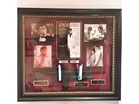 Authentic Original Al Pacino 1983 Scarface Collectible Art Frame