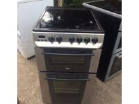 £109.00 zanusii sls new model ceramic electric cooker+50cm+3 months warranty for £109.00