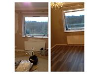 Laminate Fitter, tiles, backsplashes, bathroom fitting, plasterboard installation