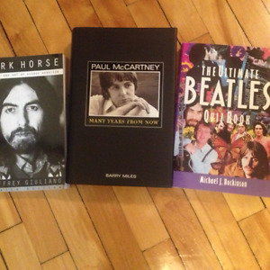 The Beatles - miscellaneous books