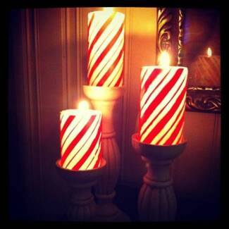 Candles - Christmas Style - brand new