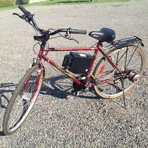 Vélo avec moteur électrique Currie Électro Drive