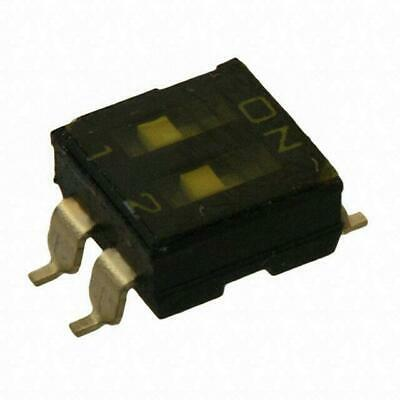 OMRON A6S-4101 4 POSITION DIP SWITCH TOP ACTUATE 8PIN SMT TERMINAL STANDARD 10