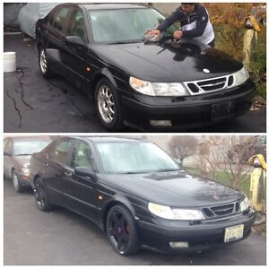 2000 Saab 9-5 ready for new owner