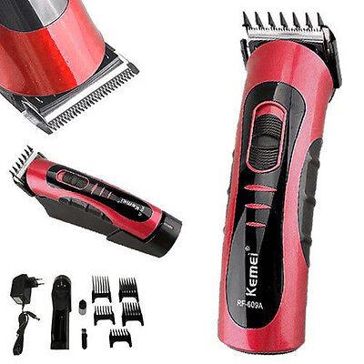 AKKU Haartrimmer Bartschneider Haarschneidemaschine Haarschneider KEMEI ROT NEU
