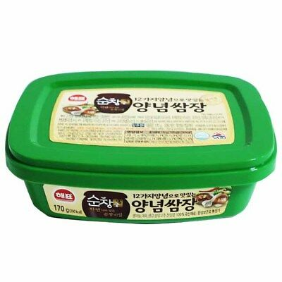 Korean Spicy Soybean paste SSAMJANG, Sauce for Roasted meat or Vegetables 170g