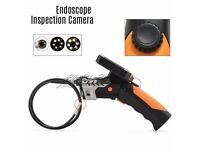 "3.5"" LCD Video Monitor Endoscope Borescope 8.2mm Snake Inspection Camera 5M Tube"