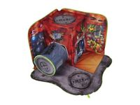 Teenage Mutant Ninja Turtles 3d Pop up Playscape Sewerscape With Storage Bag