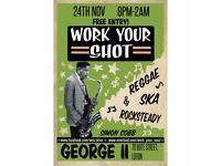 Work Your Shot! Vintage Ska & Reggae Night