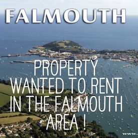 1/2/3 Property Wanted To Rent Truro/Falmouth/Penryn Area.