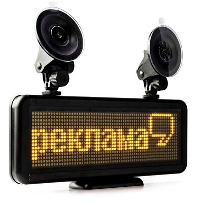11.8 X 4 12v Car Sign Programmable Scrolling Message Led Display Board Diy Kits