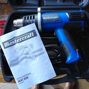 MasterCraft Heat Gun Kit, 8-pc 120V 60Hz 15A