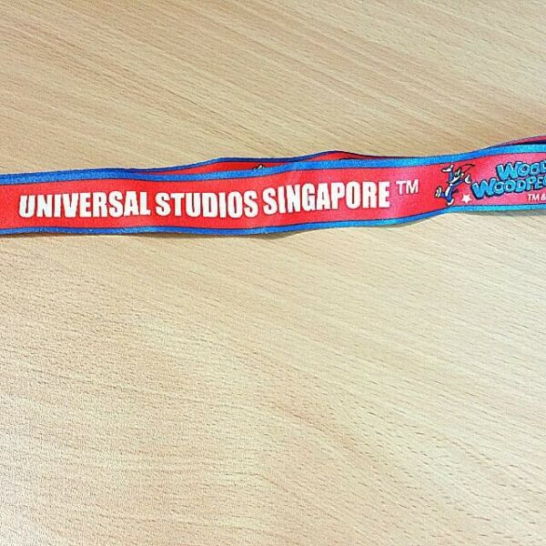 universal Studio Singapore woody Woodpecker Long Lanyard