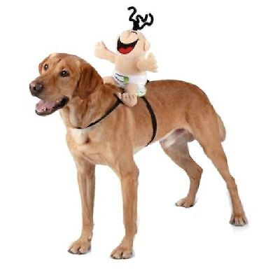 Giggling Baby Halloween Dog Pet Rider Costume Large (New with Tags) - Baby Dog Costumes