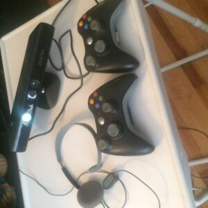 XBOX 360  including, games controlers and kinect, negotiable