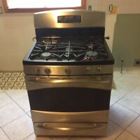 GE Top of the Line Gas Range