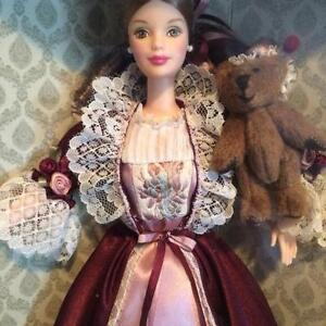 Victorian Barbie with Cedric Bear - (reduced) Regina Regina Area image 3