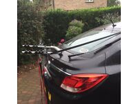Low 2 bike carrier, hardly used