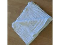 Zara Home Knitted Cotton Baby blanket