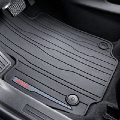 2018 2019 GMC Terrain Front All-Weather Floor Mats Jet Black 23323102